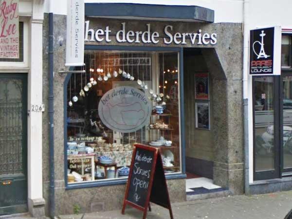 Het derde Servies - Winkelen in Delfshaven
