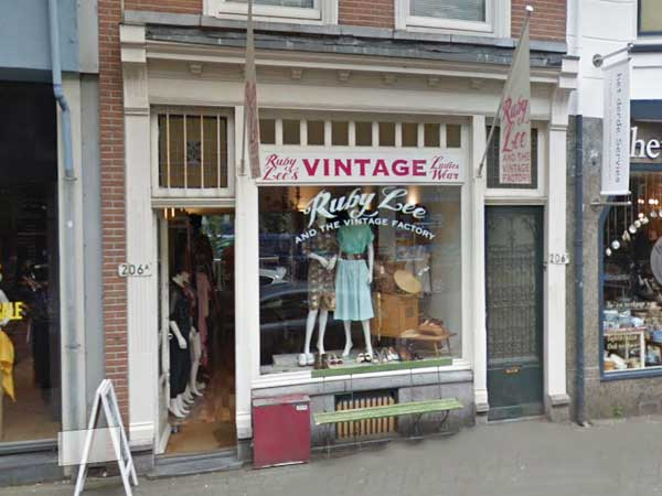 Ruby Lee and the vintage factory - Winkelen in Delfshaven