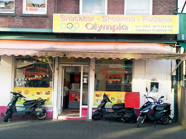 Snackbar Olympia - Vierambachtsstraat - Rotterdam