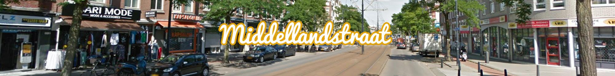 Middellandstraat - Rotterdam - Winkelen in Delfshaven