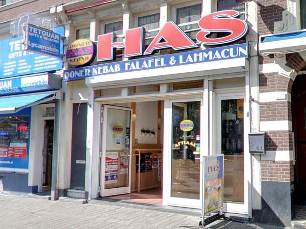 Has Doner Kebab - Schiedamseweg - Rotterdam - Winkelen in Delfshaven