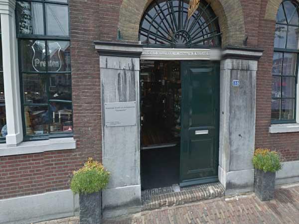 Maritieme Kunst en antiekhandel Delfshaven - Voorhaven - Rotterdam - Winkelen in Delfshaven